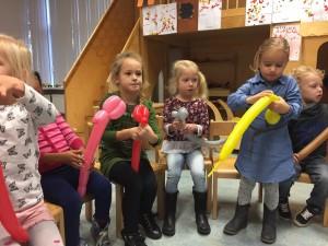 ballonnen workshop voor scholen 2