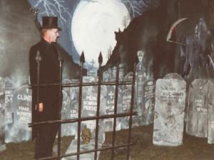 begraafplaats decor halloween feeest