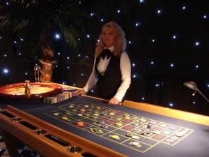 Roulette speeltafel