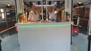 cocktailbar wit met LED
