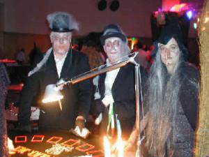 horror blackjacktafel halloween themafeest
