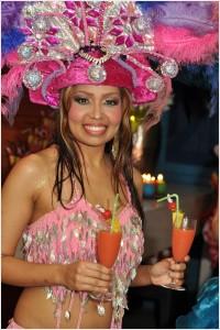 tropical themafeest bij Frenz Club Hellevoetsluis