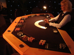 Poker TV tafel