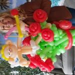 rozen-met-cupido-van-ballonnen