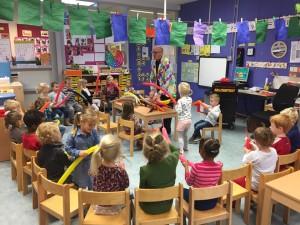 ballonnen workshop voor scholen 1