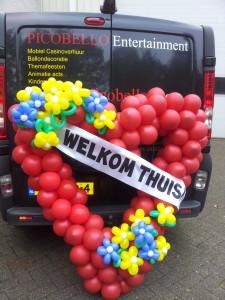 welkom thuis hart van ballonnen